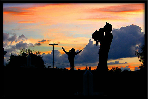 sunset summer sky man monument jump colours ukraine aplusphoto theunforgettablepictures betterthangood alandscapes