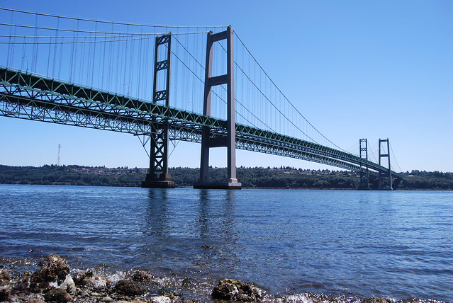 Tacoma Narrows Bridges Flickr Photo Sharing