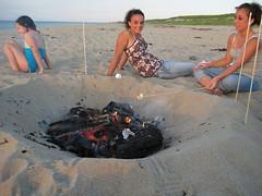 Cape Cod Bonfire