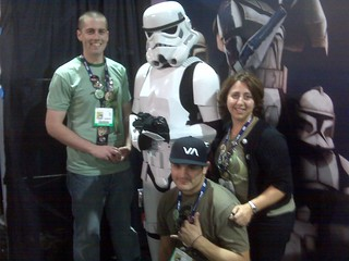 Stormtrooper with Zazzle team