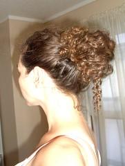 black hair(0.0), face(0.0), french braid(0.0), braid(0.0), hairstyle(1.0), chignon(1.0), bun(1.0), hair(1.0), long hair(1.0), brown hair(1.0), blond(1.0), hair coloring(1.0), forehead(1.0),