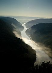 River Saar (Saarland / Germany)