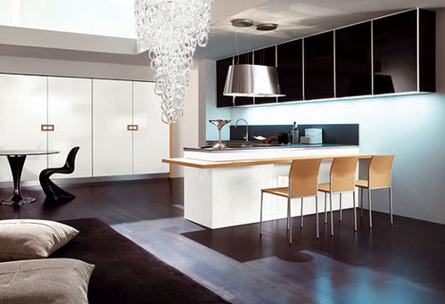 Modern, minimalist kitchen