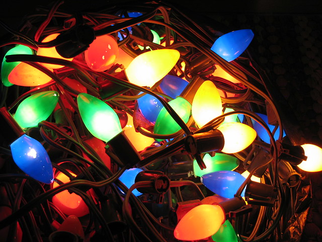 antique lights - Antique Christmas Lights