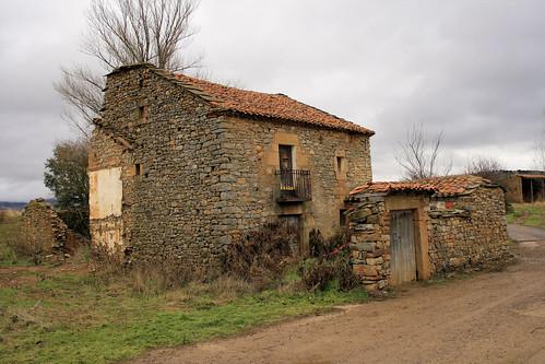 Casas de pueblos.