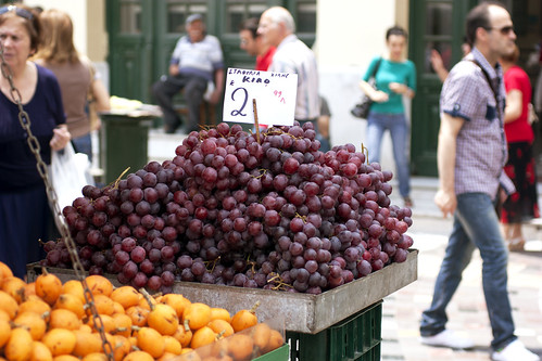 grapes @ monastiraki square