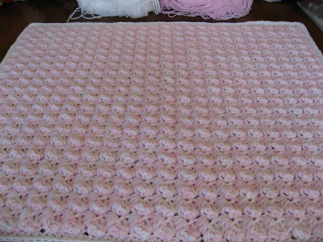Crocheting Easy Baby Blanket : Quick & Easy Crochet Baby Blanket Flickr - Photo Sharing!