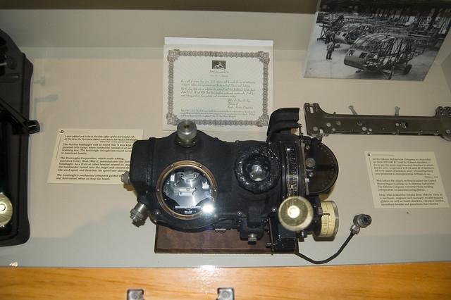 Header of bombsight