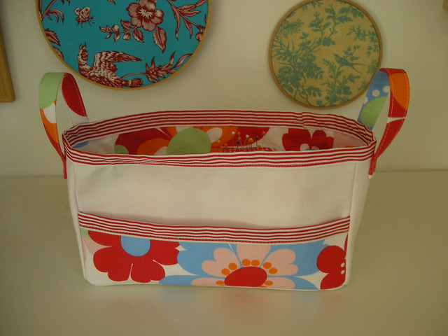 Moda Bake Shop: Fabric Easter basket