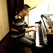 Played Debussy Ballade (2006.01.22) by ChihPing