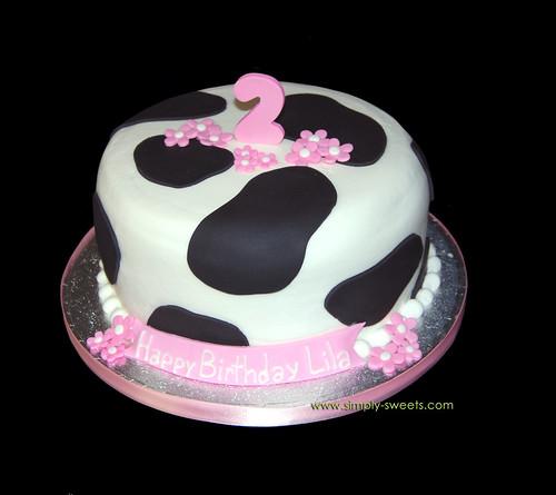 Easy Cow Cake Design : ??? ???? ?????? ??? ????? ??????? ???????
