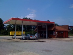 filling station, canopy, property, real estate,