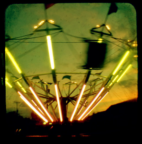 carnival sunset square swings swing rides viewfinder ttv ttvf