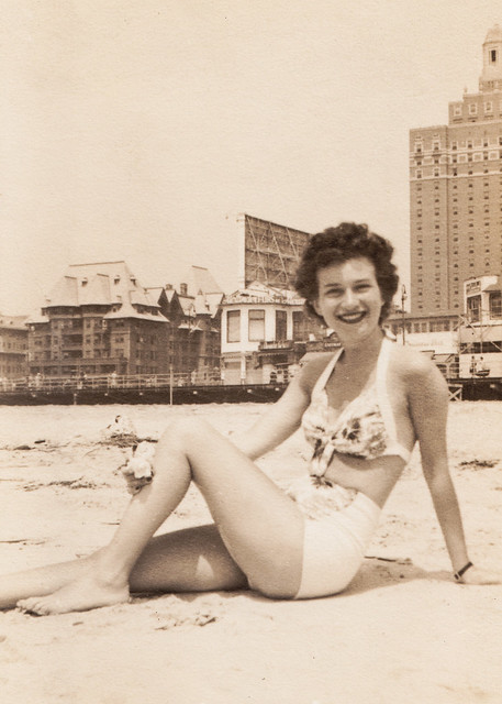 Coney Island babe (my mother)