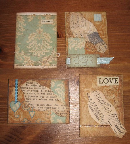 Word Birds and then some ATCs