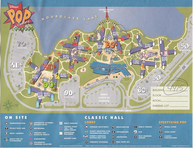 地图的pop手绘图