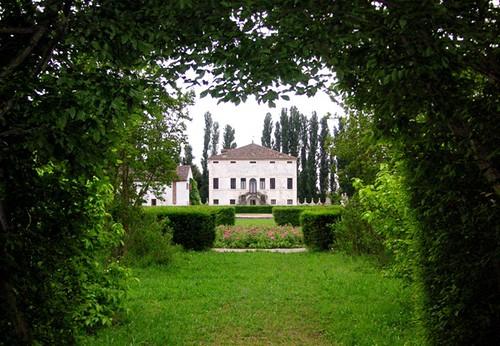 Italian villa, Villa Emo, Monselice, Italy