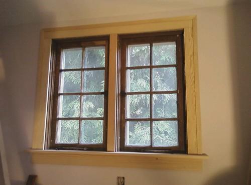 Window frame picture frame window trim for Window trim ideas