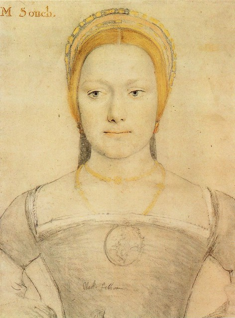 Mrs Anne or Mary Zouche by Hans Holbein