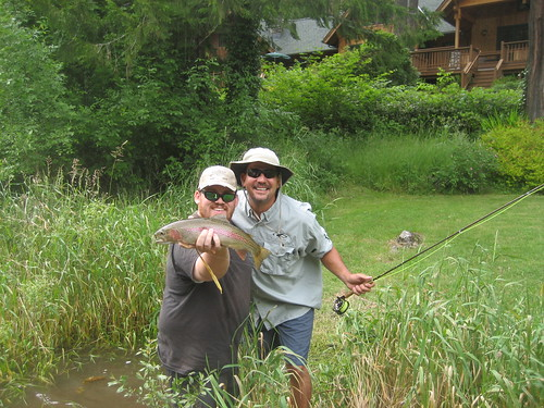 New leader in mckenzie river fly fishing contest the for Fly fishing competitions