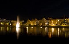 Disney's Saratoga Springs at Night