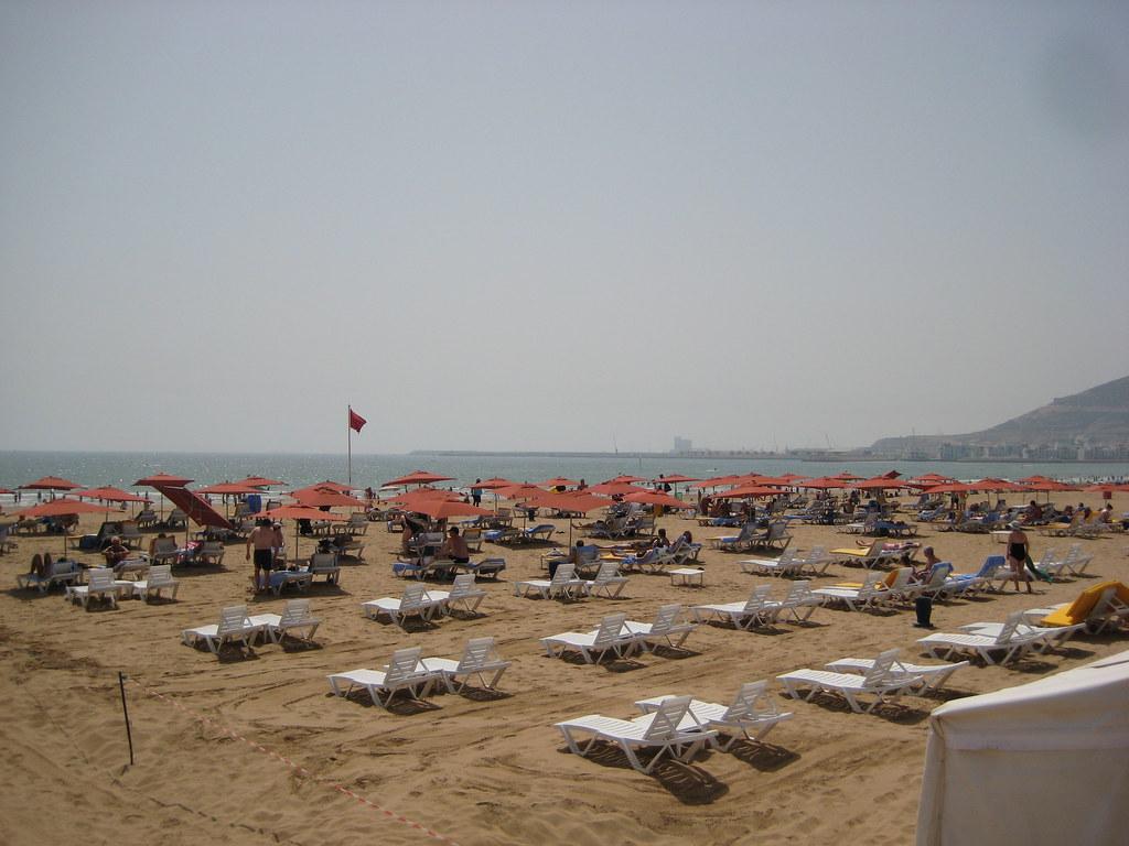 agadir пляж