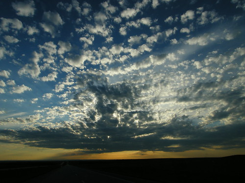 sunset clouds southdakota sunrise atardecer ontheroad