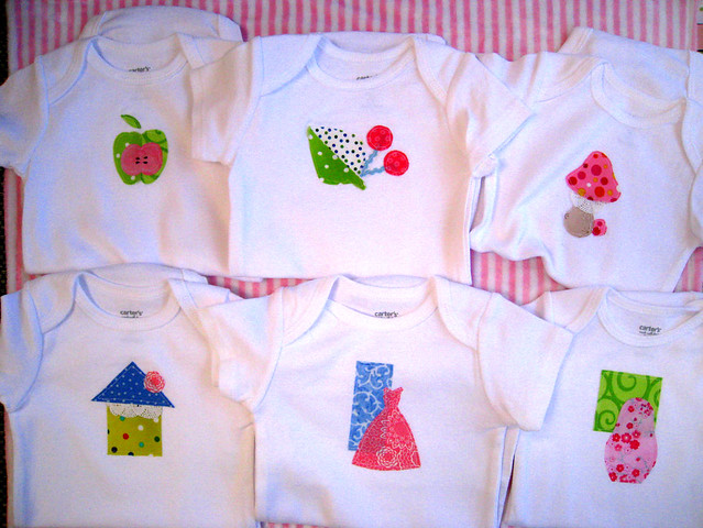 baby shower gift for Natasha onesies