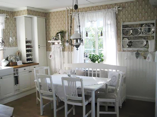 White Cottage Kitchens Pinterest