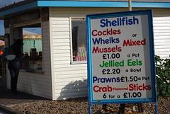 Shellfish stall, Brighton