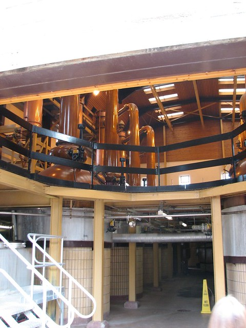 Still room at Glenmorangie Distillery