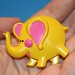 Elephant Avon Pin