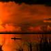 Mekong sunset by B℮n