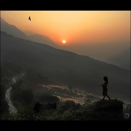 Sunrise welcome Hmong spirit