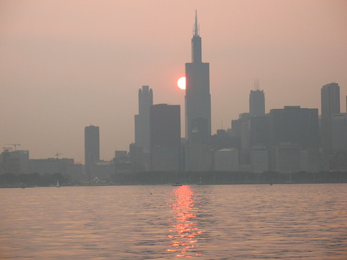 Chicago sunset 2