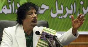 Libyan leader Muammar Gaddafi led his nation in fighting the system of western imperialism. The West bombed the North African state for eight months. by Pan-African News Wire File Photos