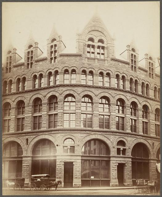 Ames Building Boston Bedford Kingston Streets H H