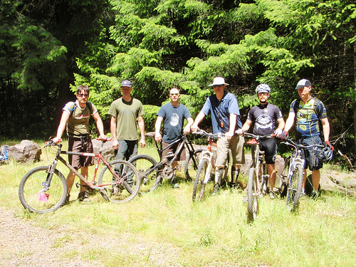 Umpqua River Mountain Bike Trip 6/11
