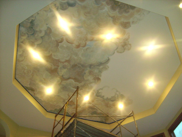 Cloud ceiling mural panousis 6 flickr photo sharing for Ceiling cloud mural