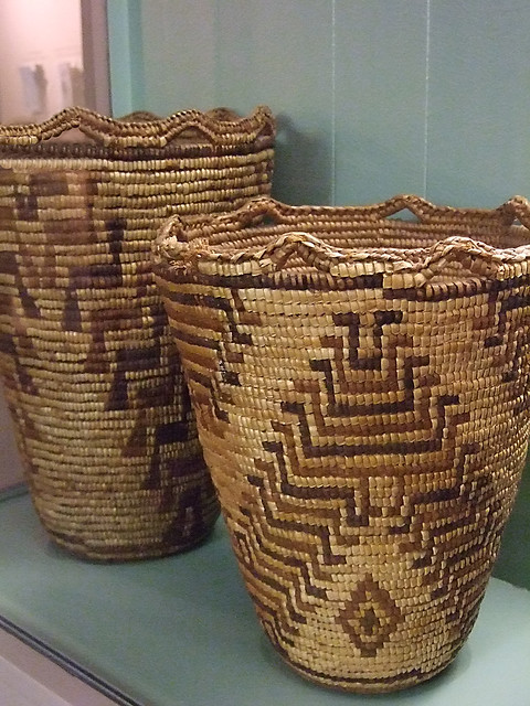 Native American Basket Weaving Instructions : Multipurpose native american baskets from tribes of the