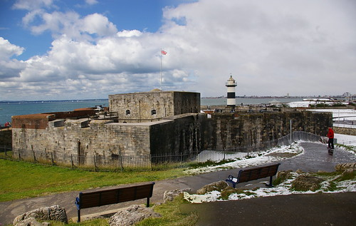 Southsea Castle in all seasons