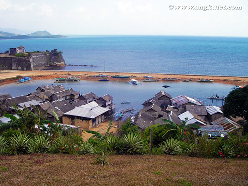 View of Taytay Port from Casa Rosa, El Nido