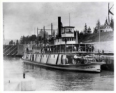 "Sternwheeler, ""J.N. Teal"" by Smithsonian Institution"