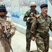 Iraqi Army, Long Knives Provide Security
