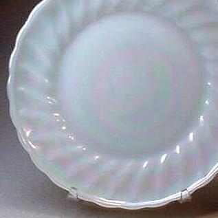 Inch Milk Glass Cake Stand