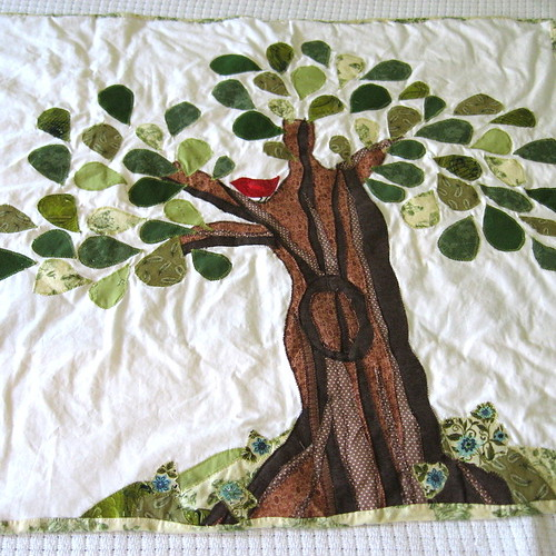 Big Tree Little Bird quilt