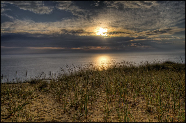 HDR Sunrise National Seashore :: Wellfleet MA