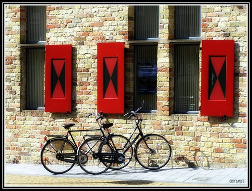 bicicletas en Franeker / bicycles in Franeker