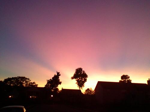 sunset sky camphone 13megapixel mobilephotography lgvx8600 stlouisdslrgroup cellphotophotography ©rmstringerphotography ©rmstringermobilephotography