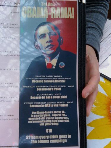 Try an Obama Rama!
